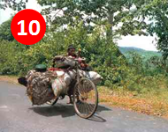 Extreme Bucket List: Ride a bicycle from one end the Indian Subcontinent to the other