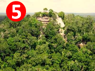 Extreme Bucket List: Nearly 50 miles from the end of the last road, the largest pyramid in the world has remained swallowed by the jungle until very recently.  We will trek there for the Mayan end of days with a group of archeologists and Mayan history experts