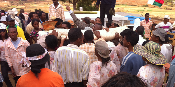 Famadihana, The turning of the bones ceremony in Madagascar