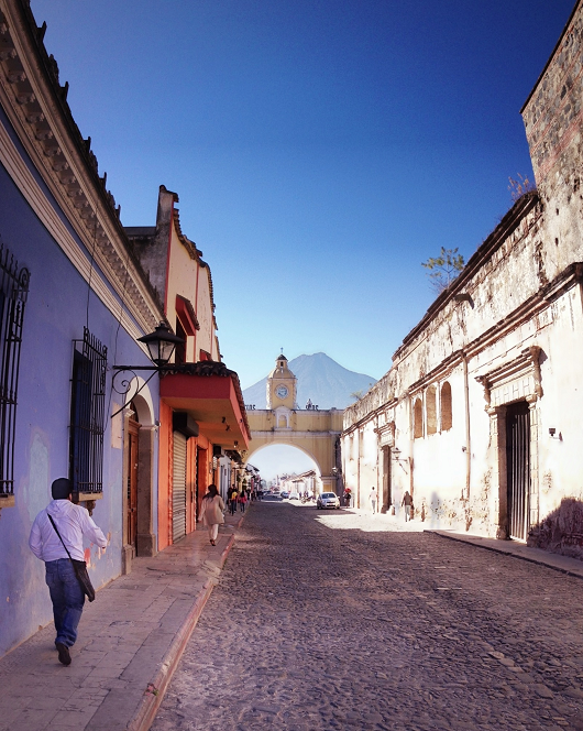 The Santa Catalina Arch in Antigua Guatemala