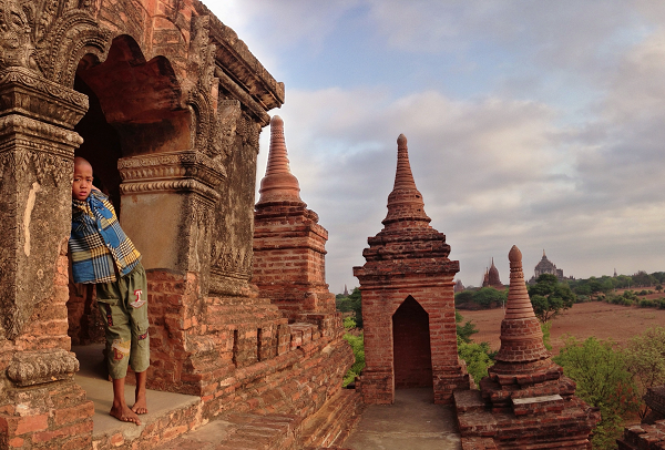 Bagan Temples: The boy key holder to this secret sunrise spot