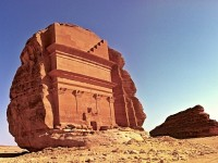 Qasr Al-Farid at Madain Saleh