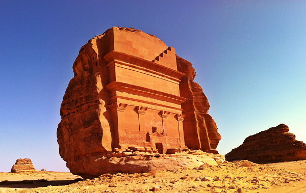 Qasr Al-Farid in Madain Saleh