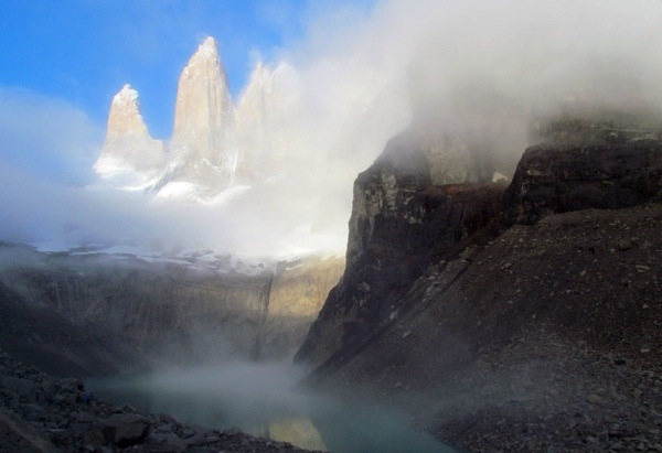 One of the most Epic Hikes: Torres del Paine in Patagonia.  Photo by: /a