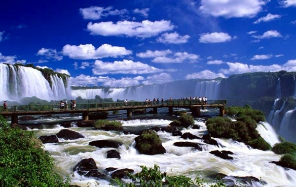 "Upon seeing the Iguazu Falls, former First Lady Eleanor Roosevelt exclaimed ""Poor Niagara!""  The power of these falls in the wet season is humbling."