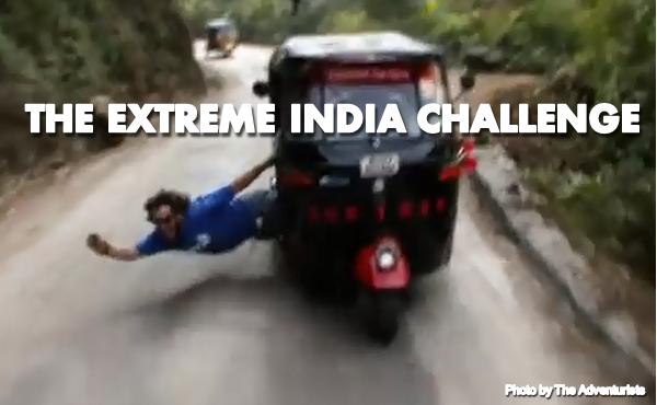 Extreme India Challenge: Rickshaw Run Edition.  Photo Courtesy of The Adventurists