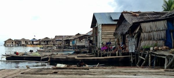 This Sea Gypsie village lies on the fringes of the known world in the most remote part of Sulawesi, Indonesia