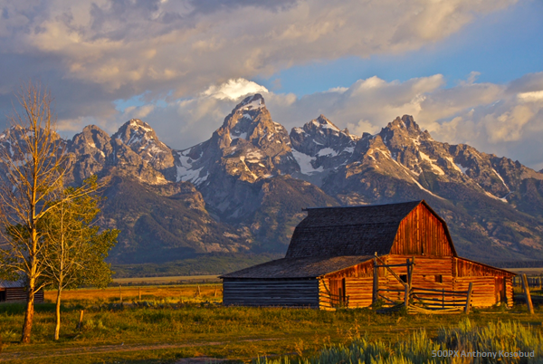 Hike the Grand Tetons National Park (via)
