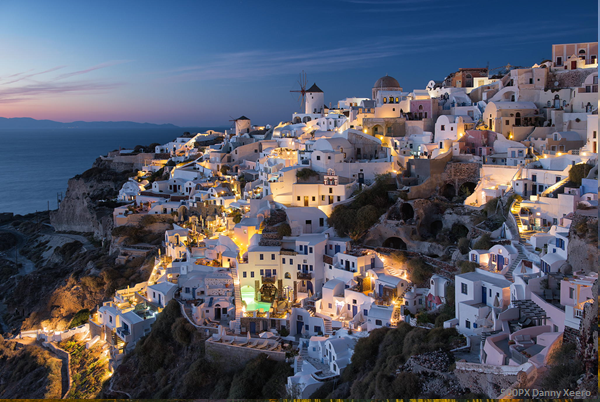 June is an excellent Month to island hop the Greek Islands