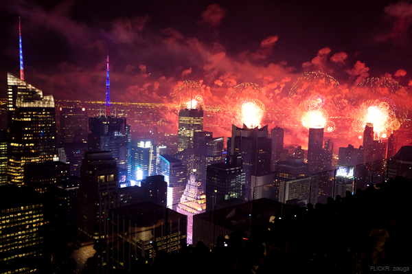 4th of July Fireworks in New York City