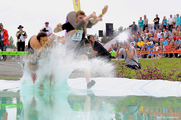 The Wife Carrying World Championship: Sonkajarvi, Finland